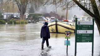 The UK is bracing for ice and downpours