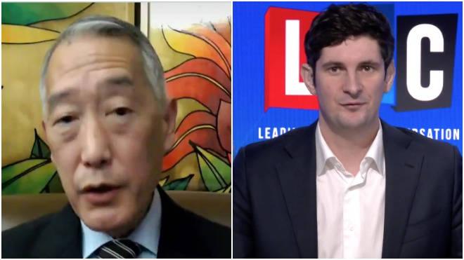 Dr Jerome Kim spoke with Tom Swarbrick on LBC