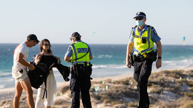 Mask wearing has become mandatory in Perth after a single Covid case was recorded
