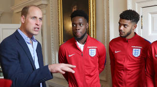 Prince William has slammed racism in football and demanded it stops now