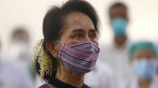 Myanmar's de facto leader Aung San Suu Kyi and other leaders were detained amid a fractious election result