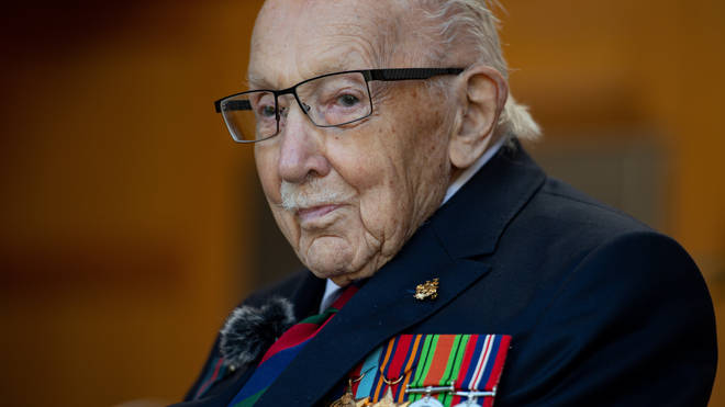 Captain Sir Tom Moore has died aged 100