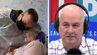 The care home CEO was speaking to Iain Dale