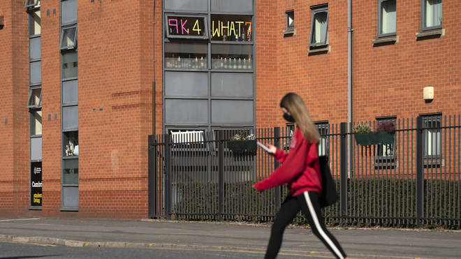 Students will have access to a £50m hardship fund