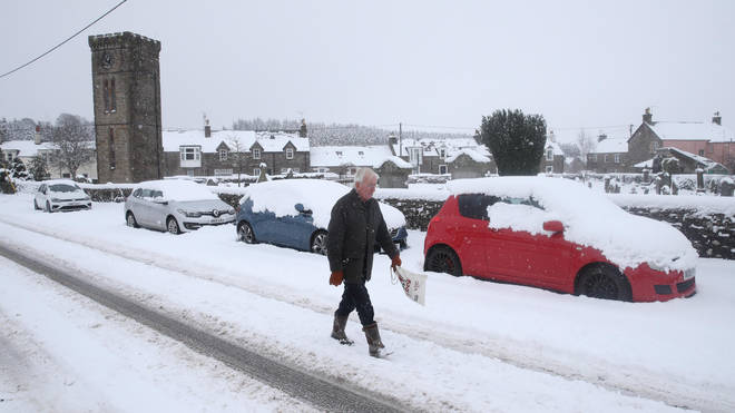 Much of Scotland is also bracing for days of icy and snowy conditions