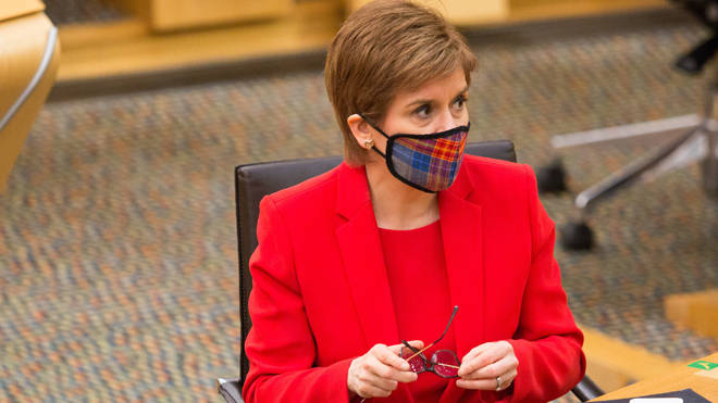 Nicola Sturgeon will deliver an update on Scotland's lockdown later
