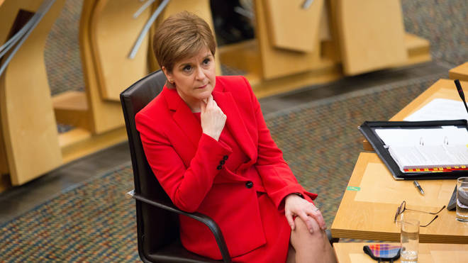 Nicola Sturgeon made the announcement on Tuesday