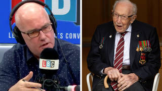 Tributes to Captain Sir Tom Moore pour in from LBC listeners