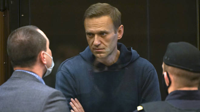Alexei Navalny has been jailed for three-and-a-half years