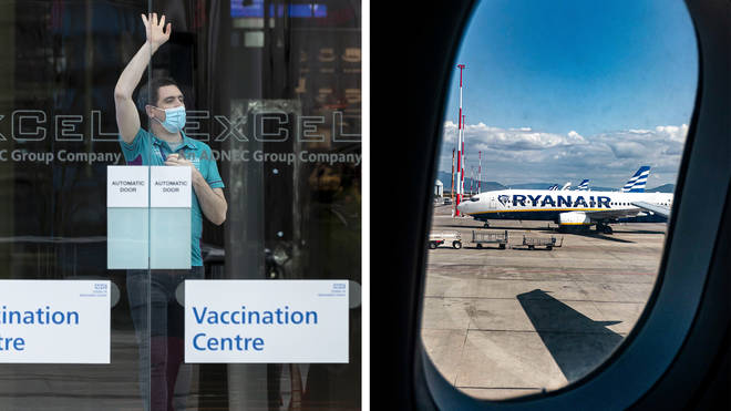 Ryanair's advert was found to have encouraged consumers to book holidays after having received a Covid vaccination