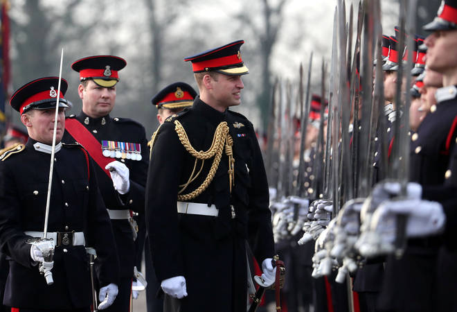 The Duke of Cambridge attended Sandhurst and in 2018 returned to review The Sovereign's Parade.