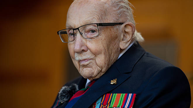 Sir Tom Moore fought in the army for five years before going on to become a director