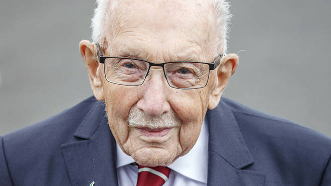 Sir Tom Moore become a national hero raising over £32million for the NHS at 99 years old