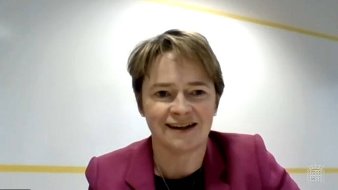 Dido Harding speaks to the Science and Technology Committee