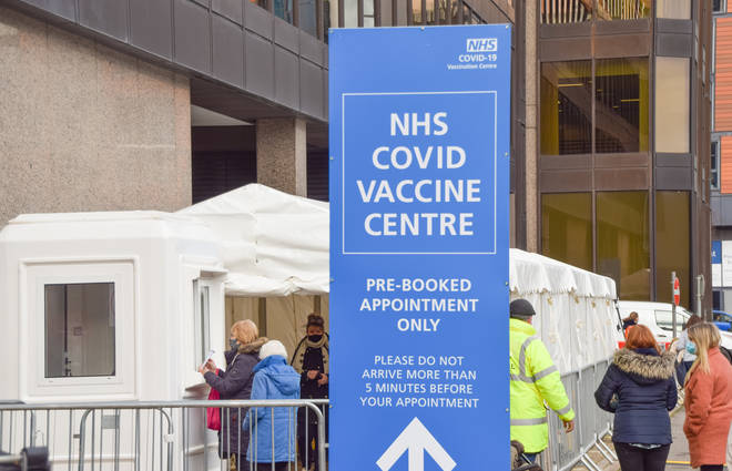 The NHS covid-19 Vaccine Centre in Wembley