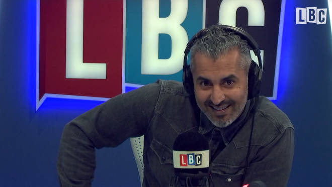 Maajid Nawaz visibly relishing his conversation with Shahid