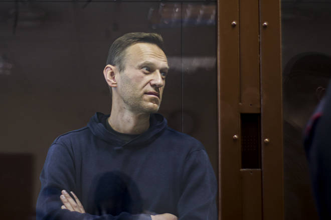 Alexei Navalny is being tried for multiple offences at a court in Moscow
