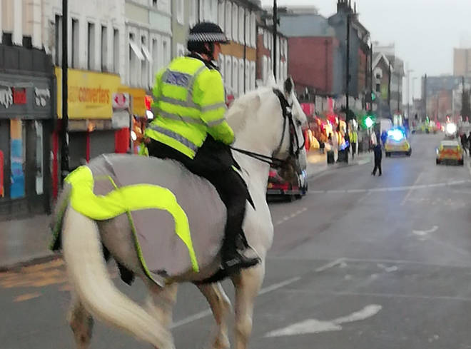 Extra police officers have been deployed in Croydon