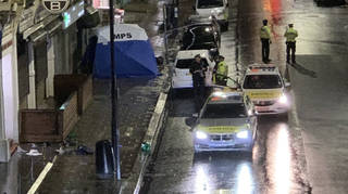Police have launched a murder probe after a stabbing in Willesden Lane, Kilburn