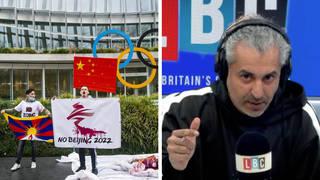 Maajid Nawaz demands UK boycott Beijing Winter Olympics