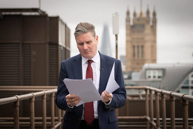 Labour leader Sir Keir Starmer has previously accused the Government of cronyism