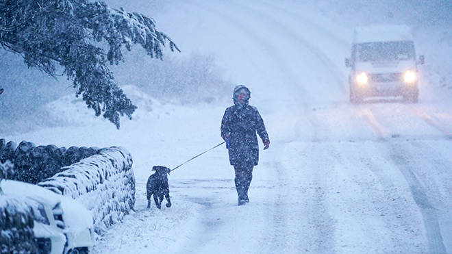 Schools have been closed to students because of the snow travel disruption
