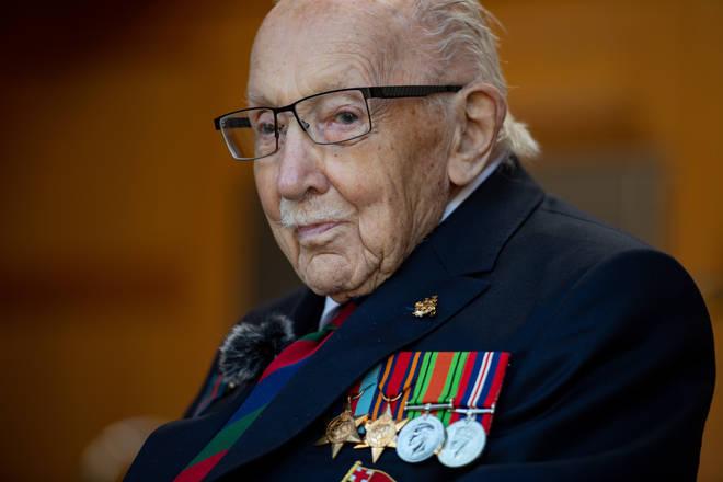 Captain Sir Tom Moore died aged 100 last week