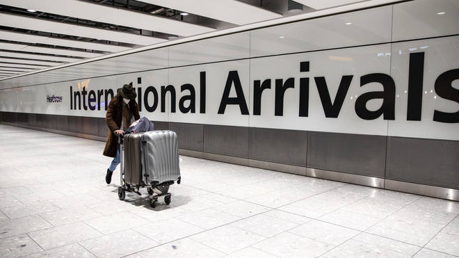 People will be required to get tested for Covid on day two and eight of quarantine after international travel