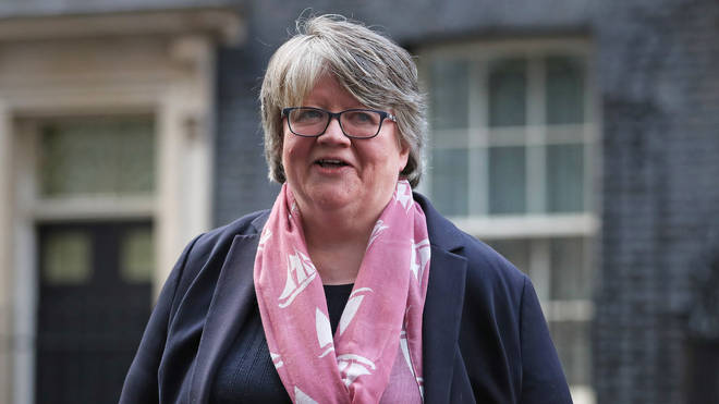Work and Pensions Secretary Therese Coffey said a one-off payment was one of the options the Government has been considering