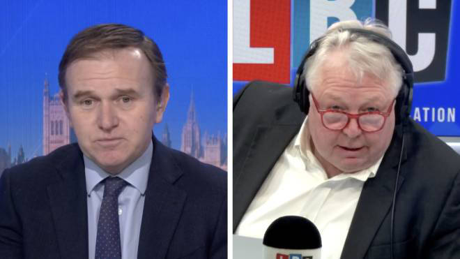 George Eustice told Nick Ferrari he is very confident hotel quarantine rooms will be secured in time