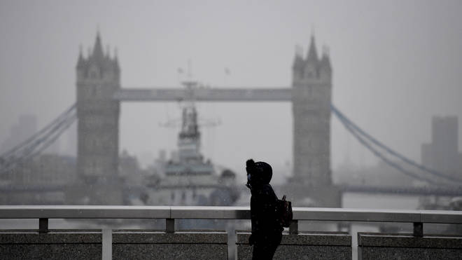 Coronavirus cases are falling in London