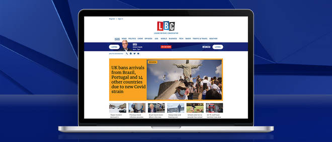 You can listen to LBC Online
