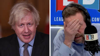 Furious James O'Brien caller blasts PM's 'unforgivable blunders' during Covid