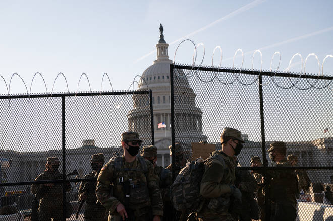 Five people died in the riots of January 6, and Washington DC has seen thousands of National Guard deployed ever since