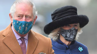 Prince Charles and Camilla have had their first doses of the coronavirus vaccine