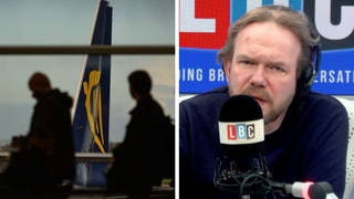 James O'Brien caller describes the type of people who break Covid travel rules