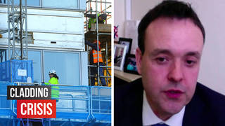 Tory MP Stephen McPartland responded angrily to the cladding crisis funding