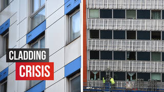 An extra £3.5bn has been pledges to tackle unsafe cladding