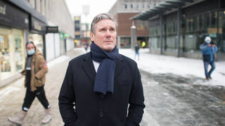 Sir Keir Starmer has called for stricter quarantine rules for those arriving into the UK