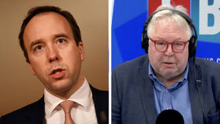 Nick Ferrari ruthlessly challenges Hancock over 'disproportionate' 10 year jail threat