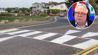 Pensioner charged for criminal damage after painting zebra crossing for his disabled wife