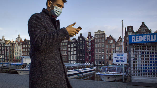 Amsterdam is now the largest financial trading centre in Europe