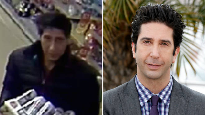 The alleged thief that really looks like David Schwimmer