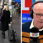 It's unfair to criticise people under lockdown for booking holidays, says caller