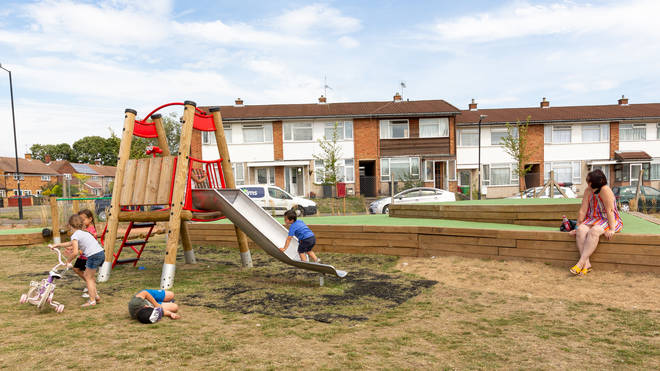 Number 10 have said playgrounds can be used by all children