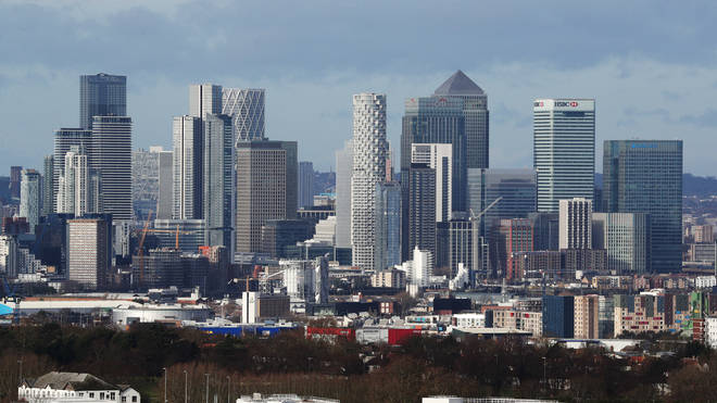 The UK's economy shrank by 9.9 per cent last year