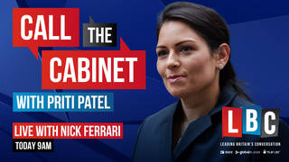 Call the Cabinet with Priti Patel