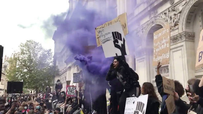 Thousands of Black Lives Matter protesters took to the streets of London last summer