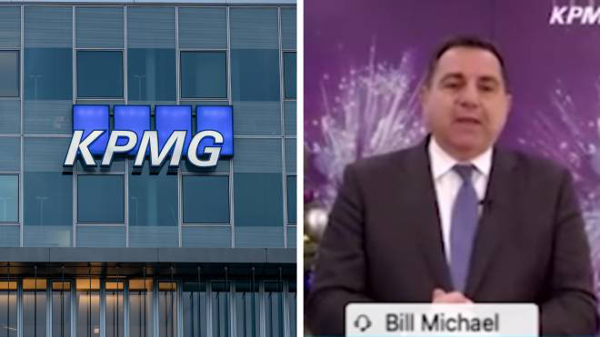 KPMG boss Bill Michael has stepped down following his remarks