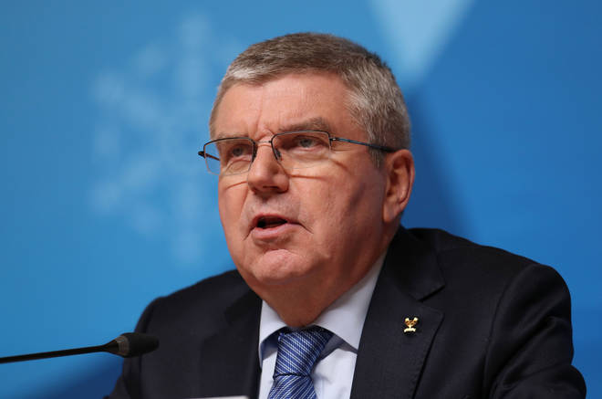 Internation Olympic Committee boss Thomas Bach wished Mr Mori well for the future